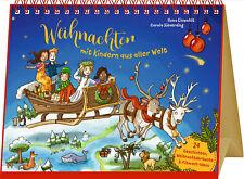 Großer Tischkalender - Weihnachten mit Kindern aus aller Welt