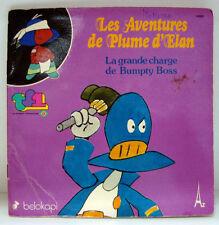 Livre-Disque vinyle LES AVENTURES DE PLUME D'ELAN 1979