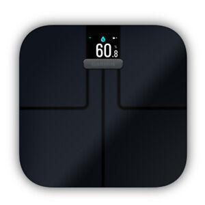 GARMIN Index S2 Smart-Waage schwarz Personenwaage Bluetooth Body Mass Index ANT