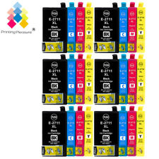 24 Ink for Epson WorkForce WF-7110DTW WF-7610DWF WF-7620DWF WF-3620 WF-3640DTWF
