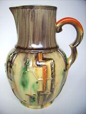 Art Deco Keramik Krug Kanne 1,5L Merkelbach&Wick Steinzeug Westerwald pottery