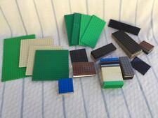 Lego Base Plate Lot 78 Variety Sizes And Colors