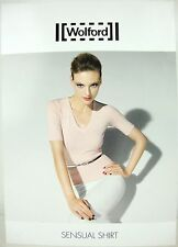 WOLFORD SENSUAL SHIRT 59695 Black Damen Shirt Bluse GrS Black NEU mit KARTON OVP