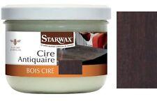 CIRE BOIS MEUBLE PARQUET ANTIQUAIRE PATE NOYER STARWAX 60
