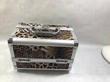 Makeup Case Leopard Print 3 Tier