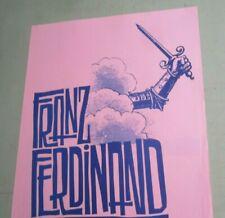Franz Ferdinand 2005 Original Seattle & Portland Concert Show Flyer Poster