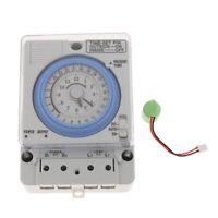 24H Chronometry Timer Mechanical Switch Industrial Analogue Timer 100V-240V