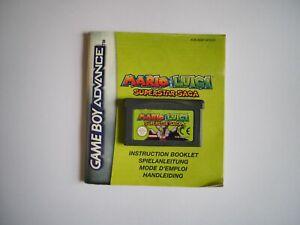 Mario & Luigi Superstar Saga - Gameboy Advance / SP  - Nintendo DS/Lite