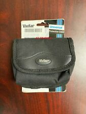 Vivitar UNIVERSAL Compact Heavy-Duty Camera Protective Case + Neck Strap ~ NEW