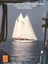 DOCUMENTO FILATELICO D.G.CORREOS Nº10 1988 CORREO VELA