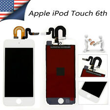White LCD Screen Display + Digitizer Touch Screen For iPod Touch 6 6th Gen