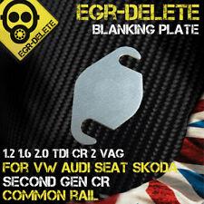 EGR valve blanking plate for VW AUDI SEAT SKODA 1.2 1.6 2.0 TDI CR2 Common Rail