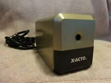 X-ACTO GOLD Electric Pencil Sharpener Model #18XXX Used Works