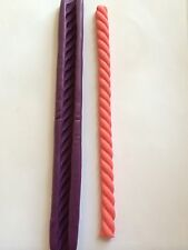 "7""&12mm Twisted Rope Silicone Push Mold Fondant gumpaste Cake Decoration"