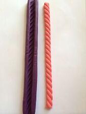 """7""""&12mm Twisted Rope Silicone Push Mold Fondant gumpaste Cake Decoration"""