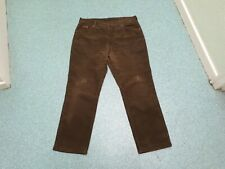 "Wrangler Texas Stretch Cords Waist 38"" Leg 30"" Faded Brown Mens Jeans."