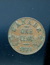 1924 Key Date Canada Small Cent CP532