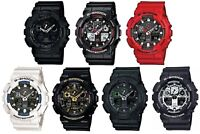 Casio G-Shock Dual Display Chronograph Resin Strap Gents Sports Watch
