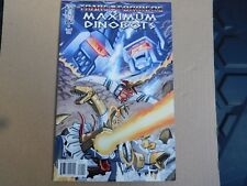 TRANSFORMERS. MAXIMUM DINOBOTS. ISSUE #1 COVER B, EXCELLENT/NR MINT