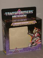 G1 TRANSFORMERS  DECEPTICON PRETENDER FINBACK EMPTY BOX LOT # 1 NICE!