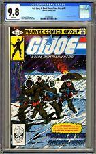 G.I. JOE A REAL AMERICAN HERO #2 - CGC 9.8 -  WP - NM/MT 1ST KWINN - 1ST PRINT