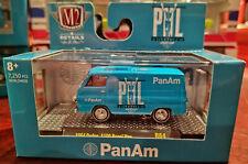NEW M2 Machines 1:64 1964 Dodge A100 Panel Van Pan Am R64 20-122 Auto Shows