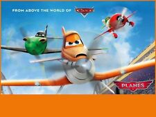 Disney Planes Edible Birthday Cake Image Topper 1/4 Sheet Icing Frosting