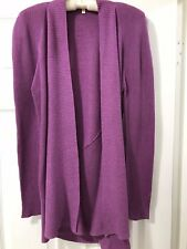 Eileen Fisher. Size Medium.  Cardigan, Jacket.  Drape Style.   Yummy Color
