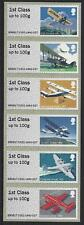 GREAT BRITAIN 2017 MAIL BY AIR. POST AND GO STRIP OF 6 UNMOUNTED MINT, MNH