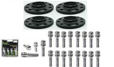 Vauxhall 5x110 Complete set of 15mm spacers, extended bolts and lockers