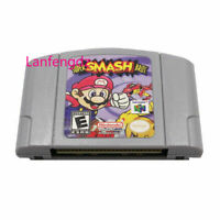 Super Smash Bros Video Game US Version For Nintendo N64 Authentic TESTED WORKING