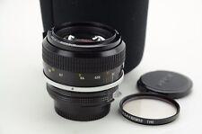 Nikon NIKKOR 55mm f/1.2, ai, MF, buone condizioni!