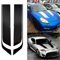 85cm Universal Car Racing Dual Stripe Hood Decal PVC Vinyl Graphics Sticker