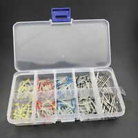 160 Pcs Dental Glass Fiber Post Single Refilled Package + 32x Drill Screw Thread