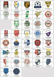 Badge Pin: European football clubs Luxembourg