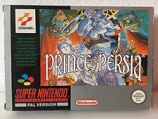 Nintendo Snes 16 Bit Lotto 5 - Prince Of Persia -  Rare Pal Version
