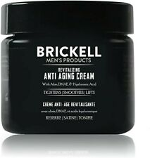 Scented Mens Revitalizing Anti-Aging Anti-Wrinkle Night Face Cream 2Oz Brickell