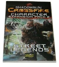 Shadowrun Crossfire Character Expansion Pack 2 Street Legends - New & Unopened
