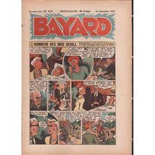 BAYARD L'Honneur des Mac Ochill et Le Lion des Cévennes Hebdo 10 Déc. 1950 N°210