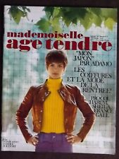 MADEMOISELLE AGE TENDRE. n°35 - Sept 1967. ( Politoff, Proco Harum, Adamo)