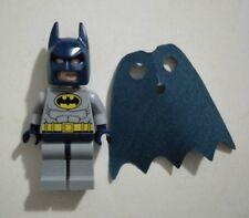Lego mini figure DC superheroes minifigure BN batman dark blue & grey