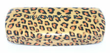 RAMPAGE New LEOPARD PRINT Eyeglasses Authentic HARD CLAM CASE