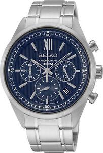 Seiko SSB155 SB155P1 Mens Watch Chronograph NEW RRP $550.00