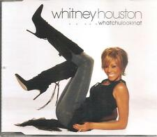 WHITNEY HOUSTON - WHATCHULOOKINAT CD SINGLE 4 TRACKS RARE 2002 EXCELLENT CONDITI