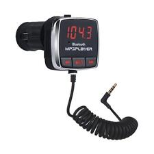 Bluetooth Wireless Car Kit MP3 Player LCD SD USB Remote FM Transmitter Android