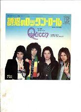 """QUEEN Now Im Here JAPAN 7"""" w/PS Freddie Mercury"""