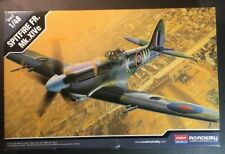 Academy 1/48 Spitfire FR. Mk. XIVe Model Kit New In Opened Box