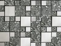 Beautiful High Quality Mix Metal Glass Mosaic Wall Tiles-Kitchen/Bathroom #J18