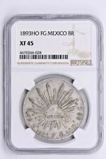 1893HO FG Mexico 8 Reales NGC XF 45 Witter Coin