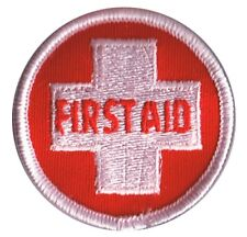 Vintage First Aid Patch - EMT, Lifeguard, Paramedic, Rescue (Sew on)